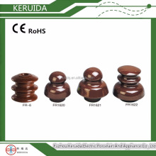 different types of electrical ceramic porcelain shackle transmission line insulators