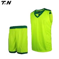 Mens green unique sublimation basketball uniforms jersey
