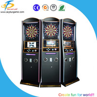Cheap coin operated dart game machine electronic dart board amusement game