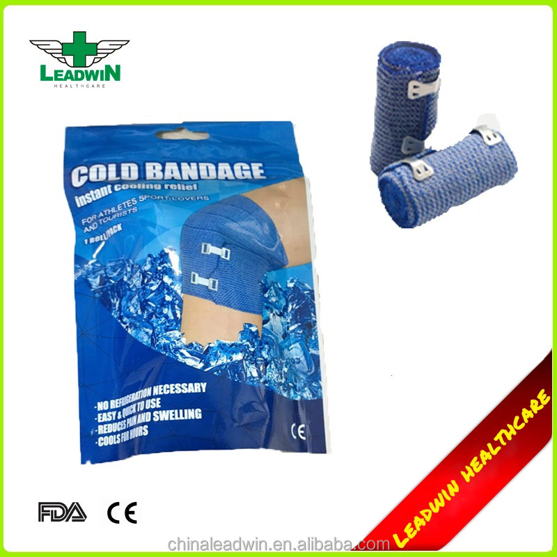 Independent Vacuum Packing Ice Bandage For Emergency Use