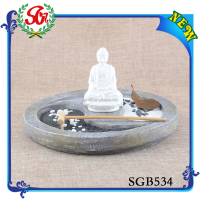 SGB534 DIY Wholesale Resin Craft Supplies,Primitive Buddha Christmas Crafts