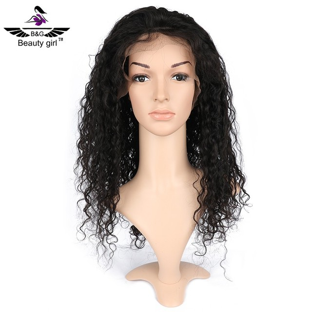 hot selling baby hair wet and wavy cheap 10 inch brazilian human hair lace front wig