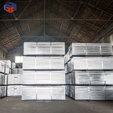 Hot Dip Galvanized Scaffolding Safety Walk Board Steel Plank Manufacturer