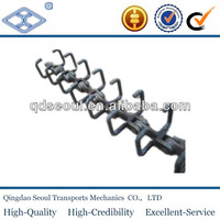 U type scraper long pitch heavy duty large food Scraper conveyor chain