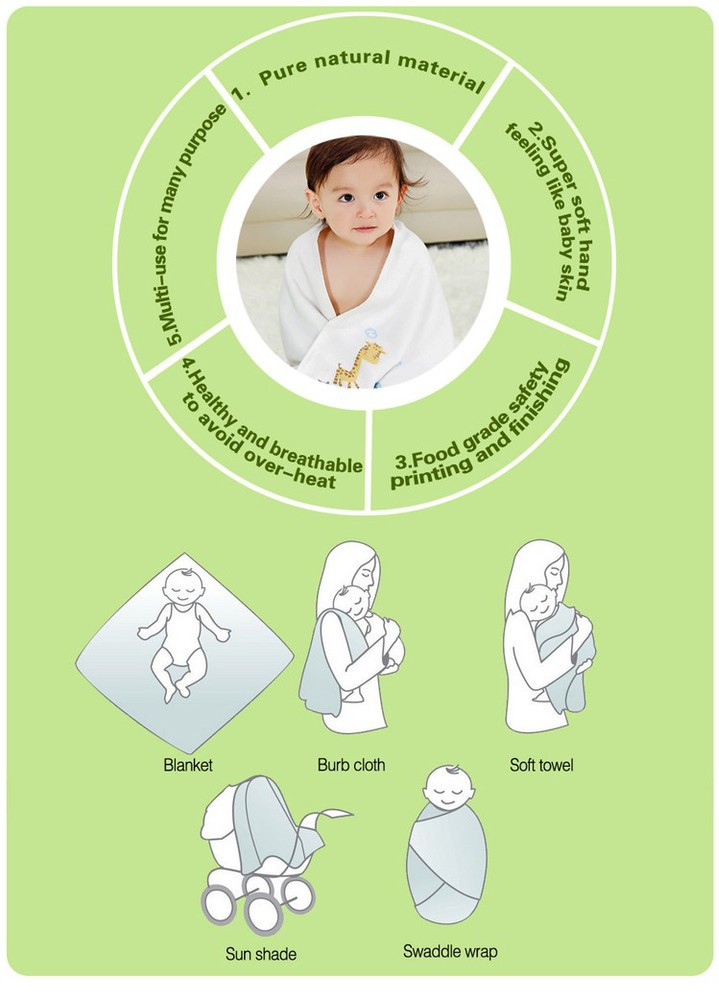 MSR016A anti-bacterial eco-friendly organic baby muslin fitted crib sheet