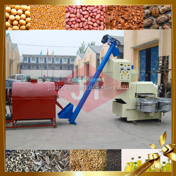 Henan gongyi cold press coconut oil extraction machine
