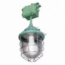 Customized aluminum die casting housing for explosion proof lamp with green color