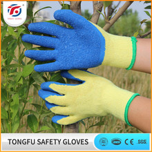 electric insulating latex coated working glove