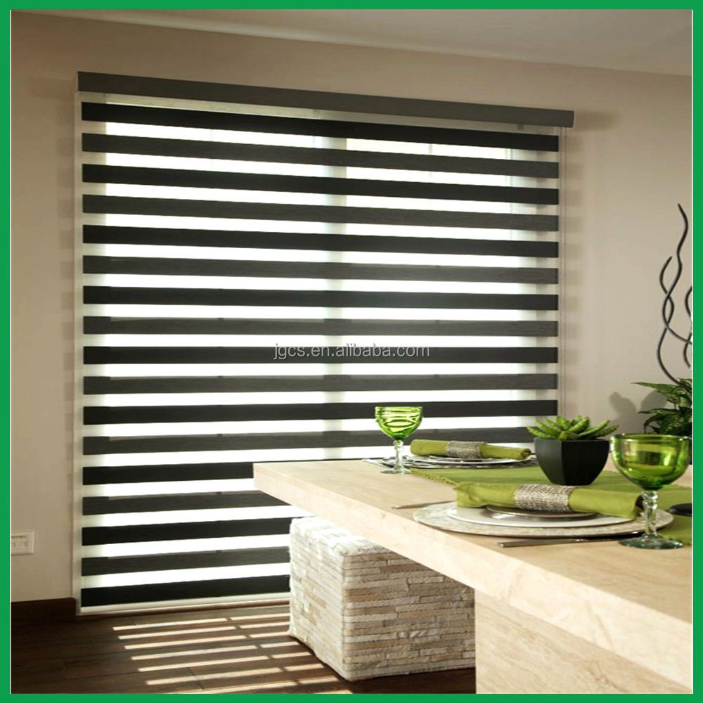 China Fashionable Roller blind / day-night blinds / Zebra Blinds