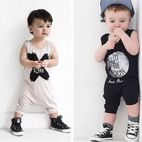 SUMMER BABY CLOTHES , BABY BOYS ROMPER