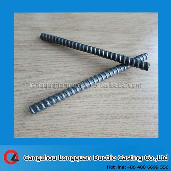 Adjustable formwork tie rod 16mm with wing nut