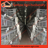 Antirust chicken egg layer cage / laying hen cages for sale / rabbit animal cage system