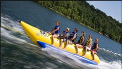 Custom Size 2 Person Small Inflatable Banana Boat