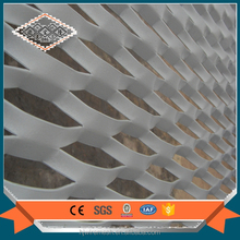 exterior decorative expanded metal mesh wall panels