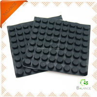 rubber feet for equipment/adhesive silicone pad/adhesive rubber pad