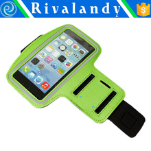 Waterproof Sport Running Armband For S3/S4/ S5/S6/S6 Gym Mobile Phone Arm Holder Belt Brush Leather Case