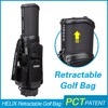 HELIX Waterproof golf boston bag with rain cover