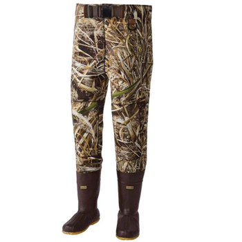 Camo Neoprene Boot Foot Fishing Waist High Waders