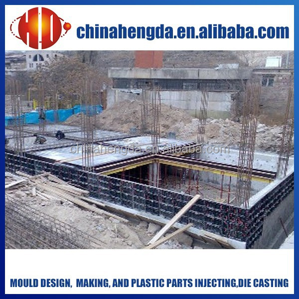 reusable plastic formwork for construction