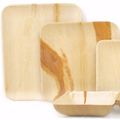 high quality nice looking birch wooden food container plate bamboo plate
