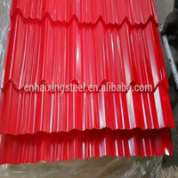 New style full body glazed color steel coated metal roof tile