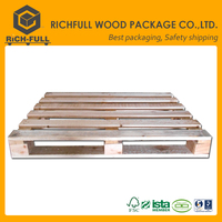 Transport pallet price of used wooden pallets ispm 15