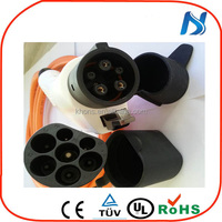 SAE J1772 to 62196 (type1 to type 2)female to male electrical plug adapter for Electric charging