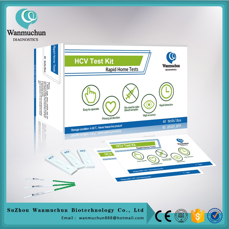 Best quality hbv hcv test kits lateral flow FDA cleared CE mark