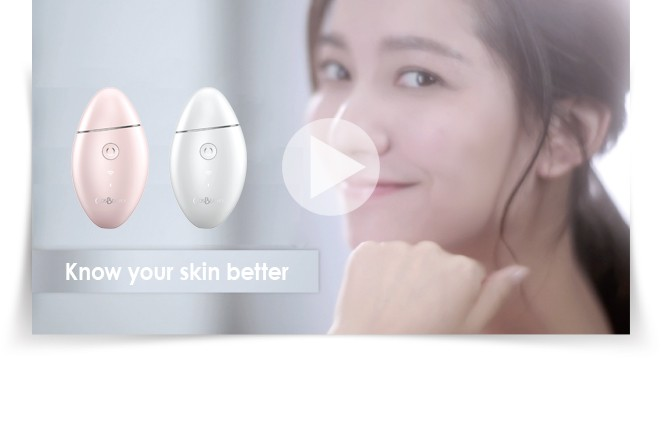 CosBeauty Brand updated new model WIFI connected app aiDirect Pro smart skin analyzer