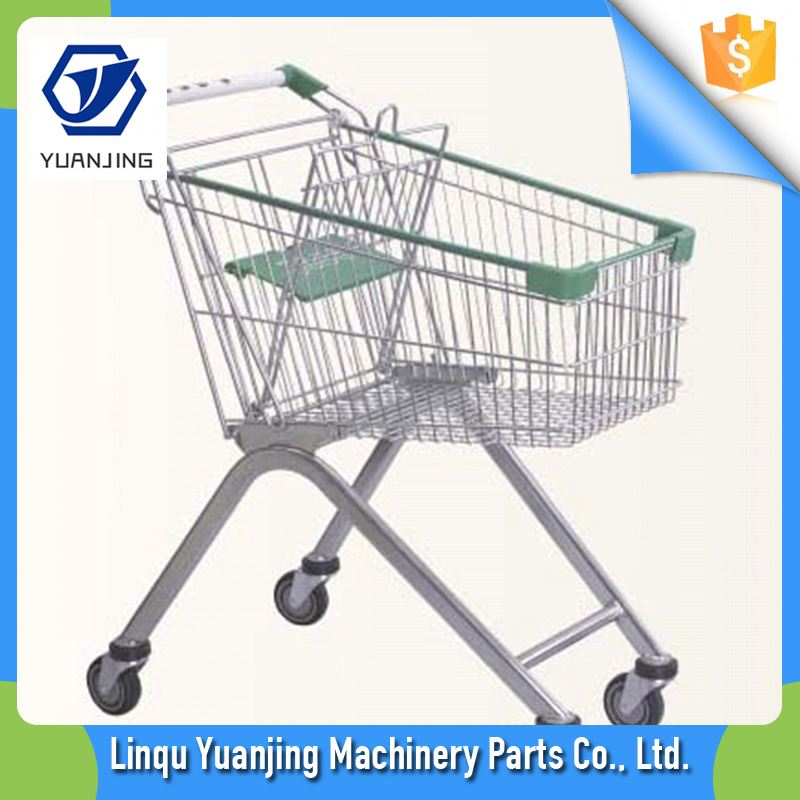 New Style For Sale Cheap Export To Market Supermarket Shopping Trolley