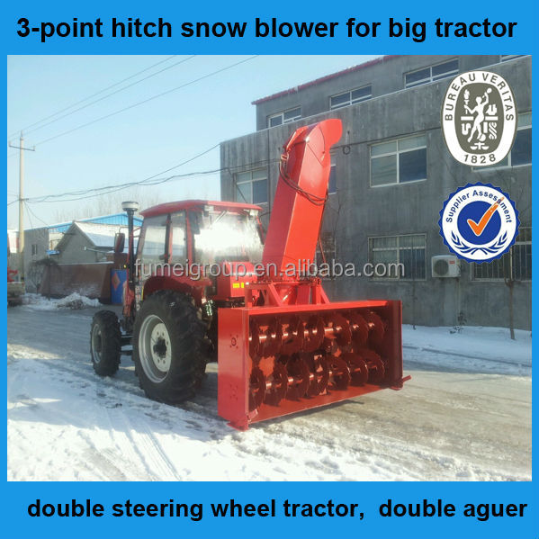 Cxserie 3punkt Schneefräse Traktor Schneefräse: 3- Dreipunktaufhängung Schneefräse Für Großer Traktor