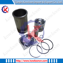 Kowloon Cylinder 6 Kits Piston, Liner, Pin, Ring, Rubber and Circlip for Gasoline Engine