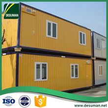 DESUMAN China gold supplier OEM multiple functions house built of shipping containers