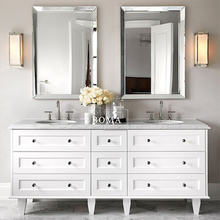 "Boma 72"" canada bathroom vanity cabinet with mirror and sink"