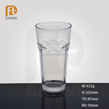6 OZ China manufacture wholesale traditionally crafted tall and thin glass tea cup with custom logo