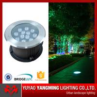 IP68 stainless steel cover garden yard square application LED in-ground light
