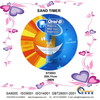Sand clock in shape of sun and moon-ST2003