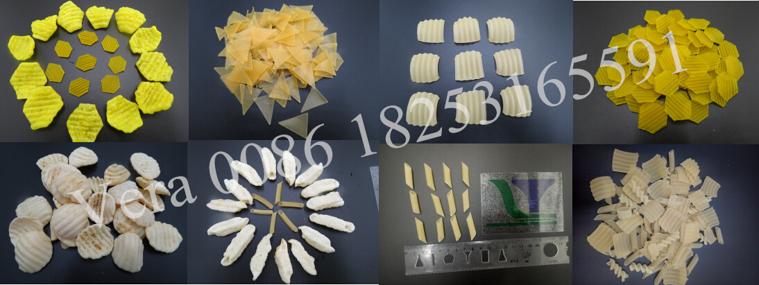 Puffed 2D&3D Snack Pellets Processing Line