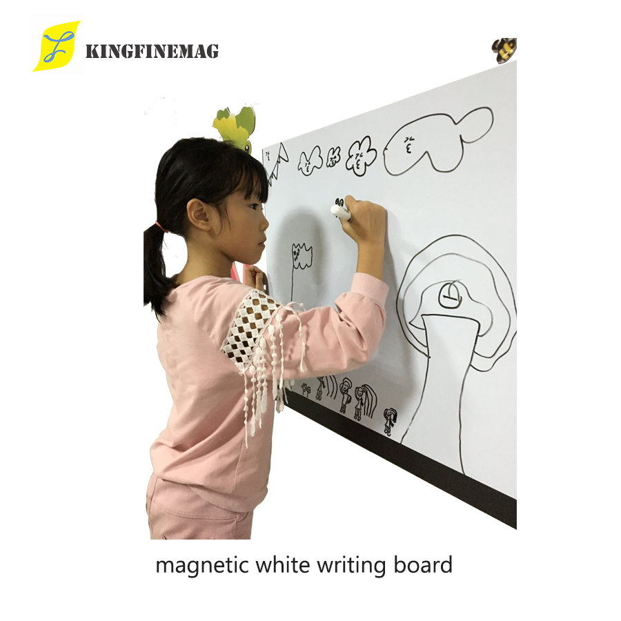 Hot Flexible Magnetic White Writing Board Magnetic Dry Erase White Board Sheet