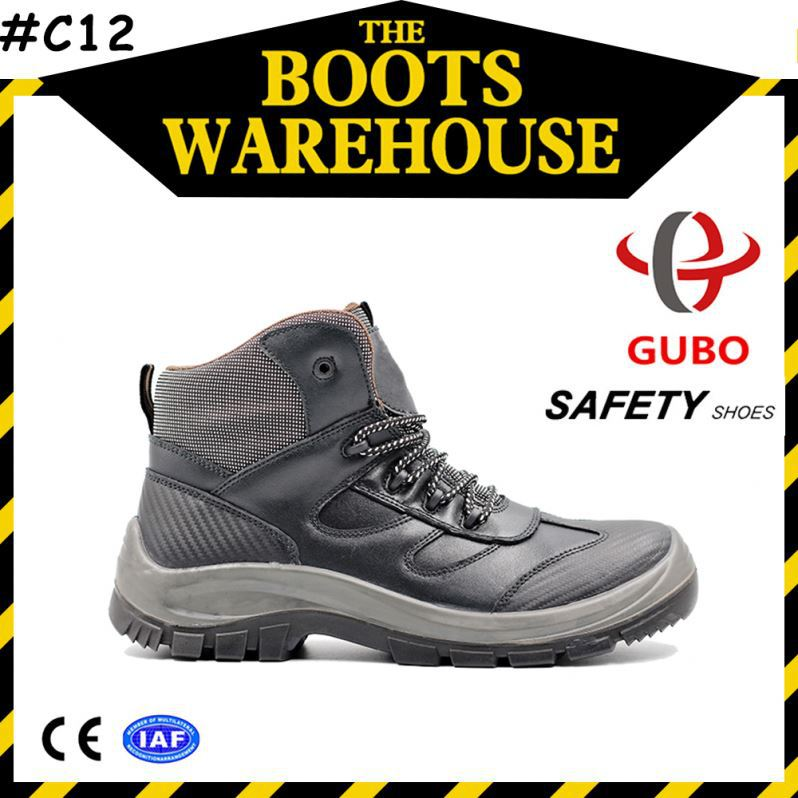 pu outsole material smooth leather fabric meterial safety shoes germany