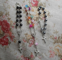 high quality rosary beaded necklace