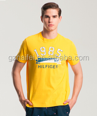 New fashion clothing design scoop neck wholesale hemp tshirts for men