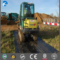 Lawn temporary access road and ground protection mat