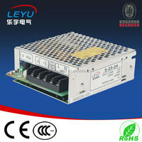 5vdc regulated adapter switch power supply 25w ac dc single output 5A constant voltage 110v led strip S-25-5 PSU