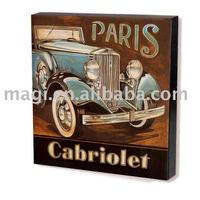 New Style Classic Cabriolet Paris Car Wooden Home Decor