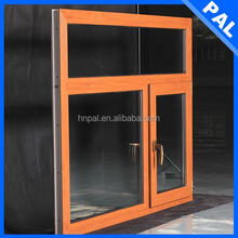 French standard Water proof window tilting pvc With triple glazing window