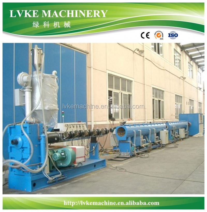 High quality PVC foaming pipe plastic machine/ production line/ extrusion