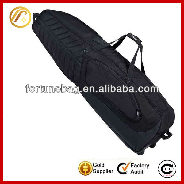 Generous and classic folding travel golf bag