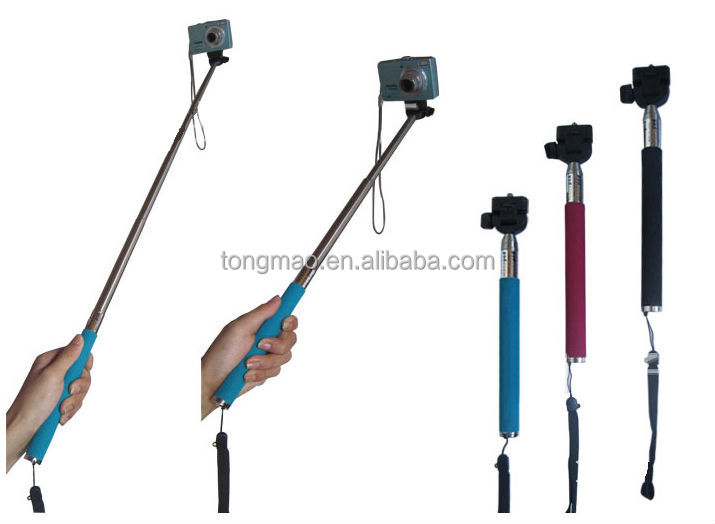 Mobile phone and Digital camera collapsible selfie stents