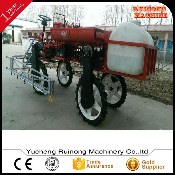 Strong construction tractor mounted farm boom rod sprayer